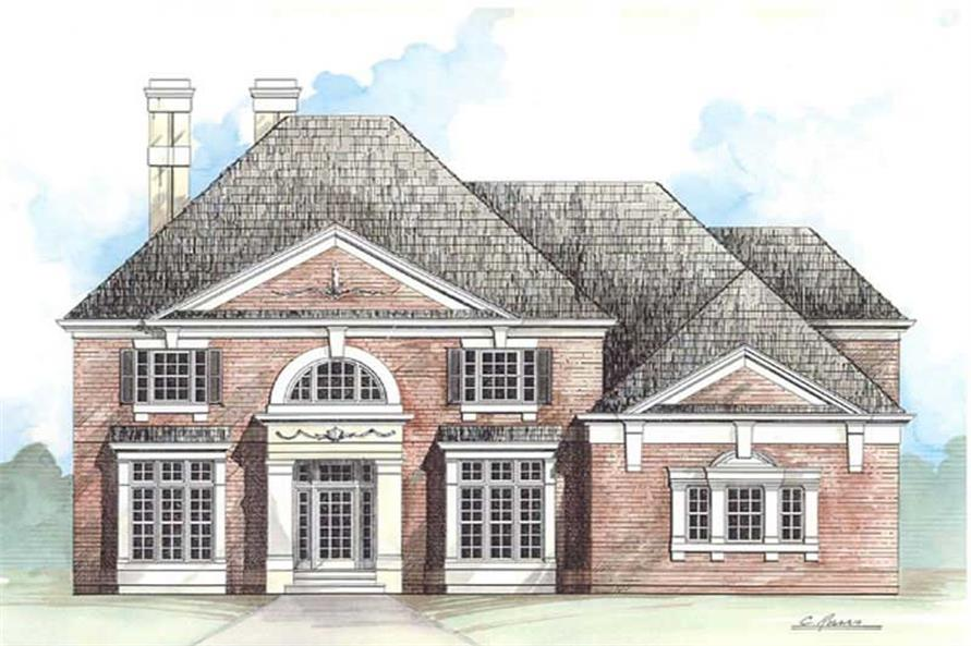 Main image for house plan # 16030
