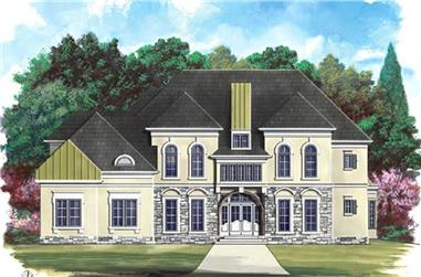 Main image for house plan # 16118
