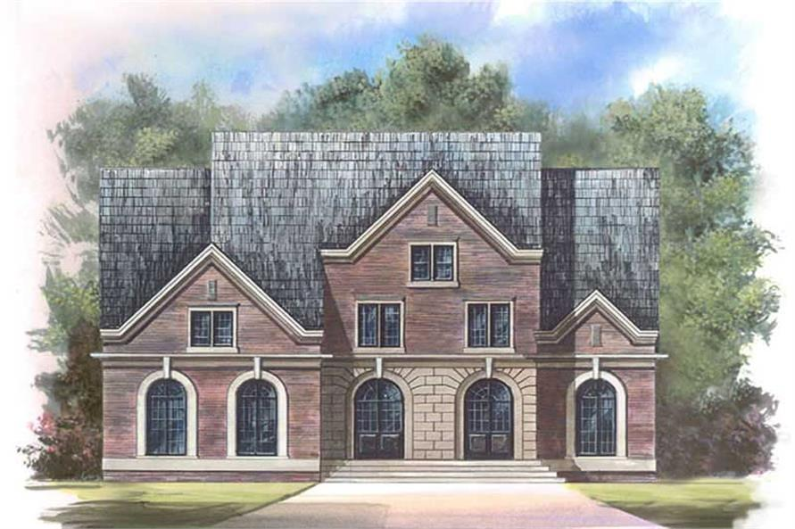 Main image for house plan # 15933