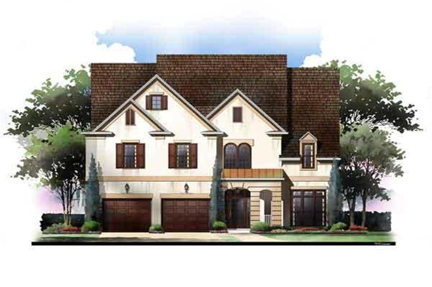 5-Bedroom, 2943 Sq Ft Luxury House Plan - 106-1131 - Front Exterior
