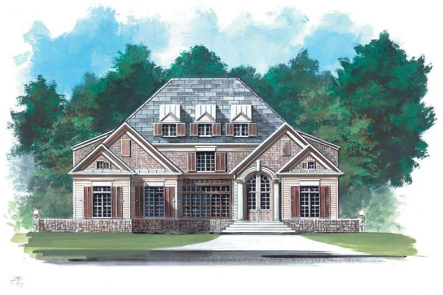 Main image for house plan # 15966