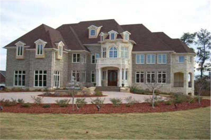 Home Exterior Photograph of this 6-Bedroom,7618 Sq Ft Plan -106-1147