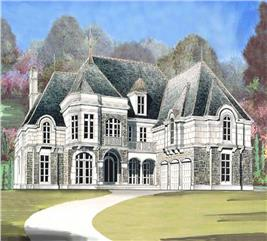 House Plan #106-1149