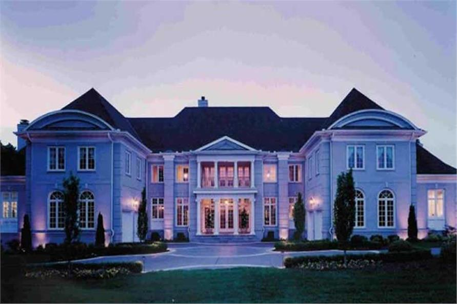 EXTERIOR PHOTO of this 5-Bedroom,6970 Sq Ft Plan -6970