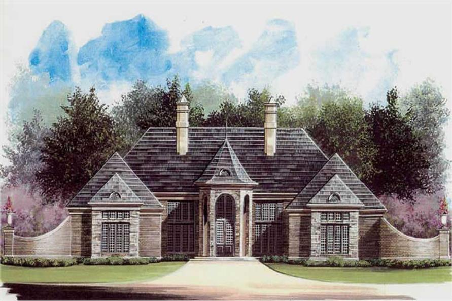 Main image for house plan # 15843
