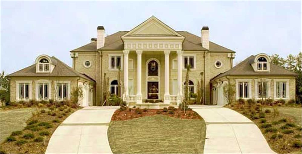 House Plan front photo