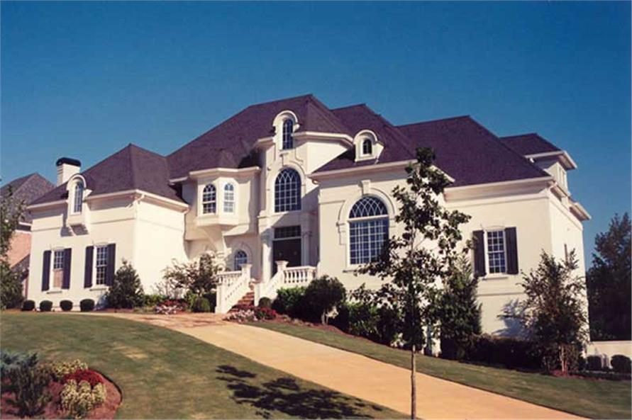 EXTERIOR PHOTO of this 5-Bedroom,4553 Sq Ft Plan -4553