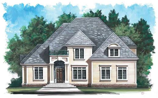 Main image for house plan # 14284