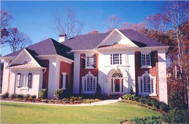 5-Bedroom, 3497 Sq Ft Colonial Home Plan - 106-1164 - Main Exterior
