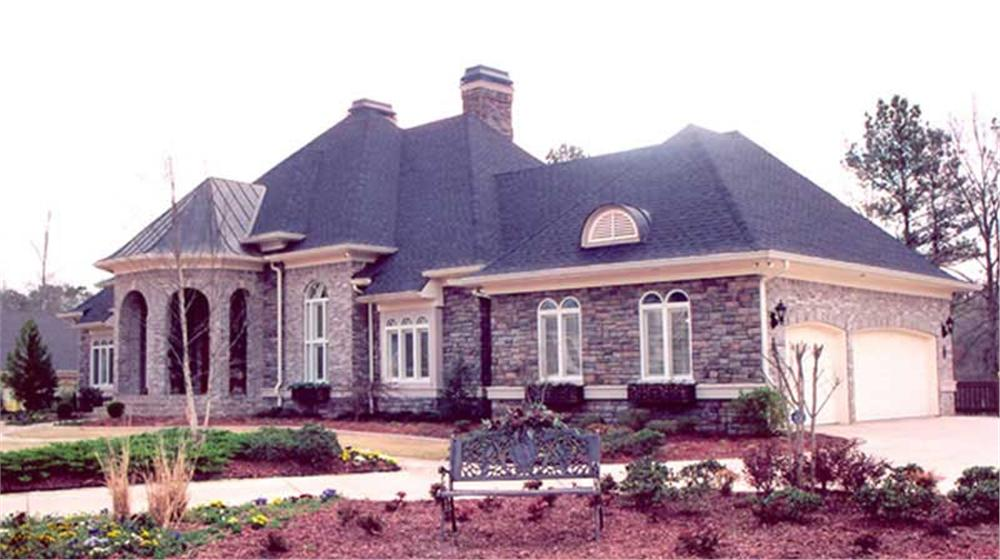 Color photograph of House Plan #106-1165