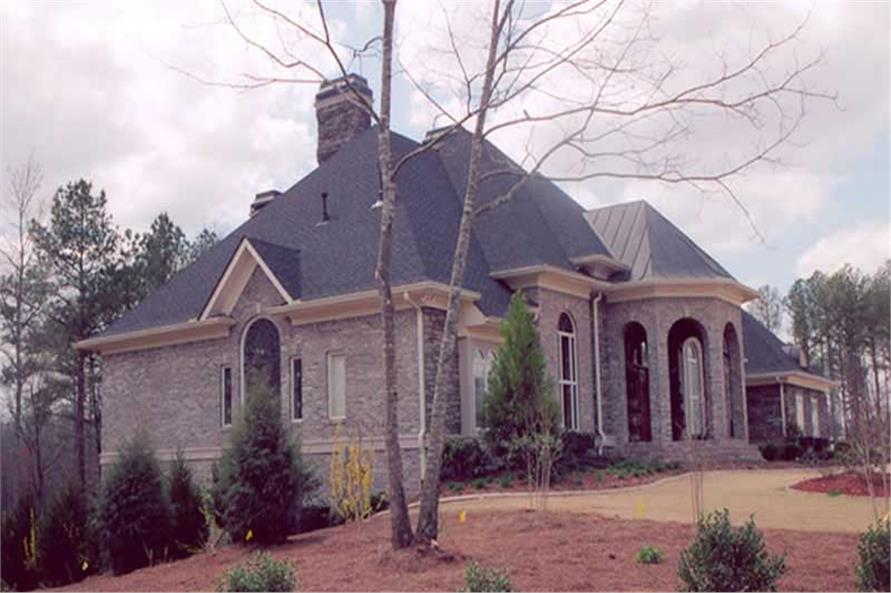 EXTERIOR PHOTO of this 4-Bedroom,5082 Sq Ft Plan -5082