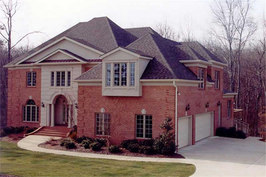 EXTERIOR PHOTO of this 4-Bedroom,4364 Sq Ft Plan -4364