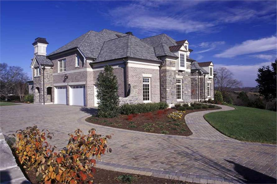 EXTERIOR PHOTO of this 4-Bedroom,4041 Sq Ft Plan -4041