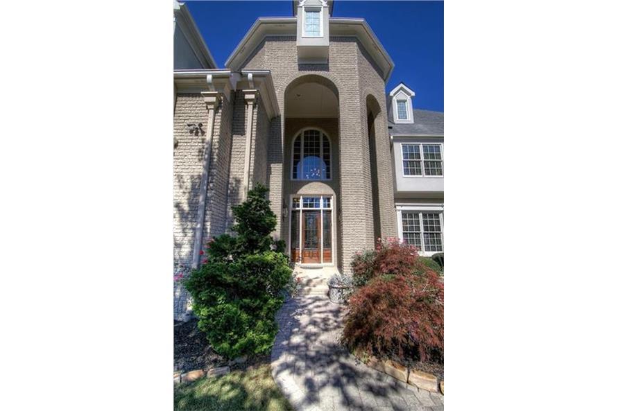 106-1167: Home Exterior Photograph-Front Door