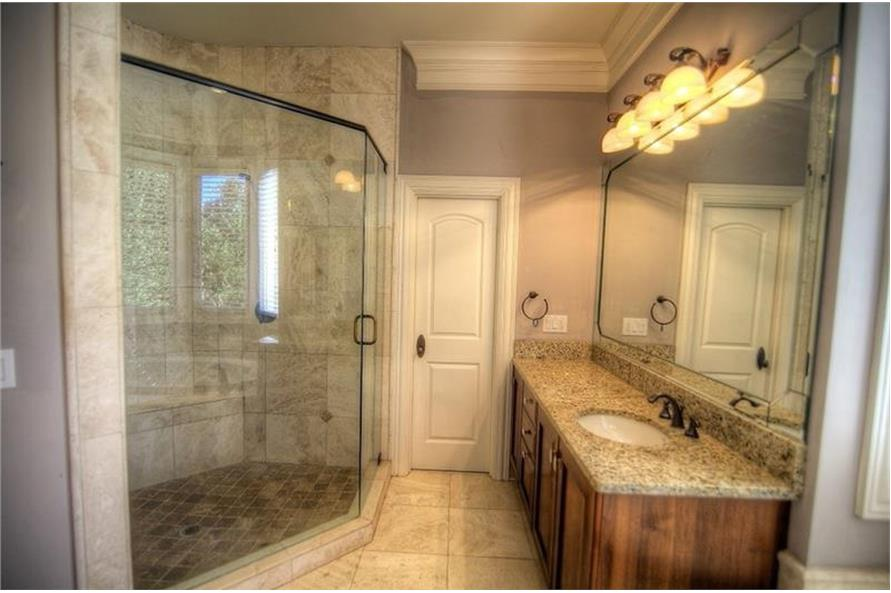 106-1167: Home Interior Photograph-Bathroom
