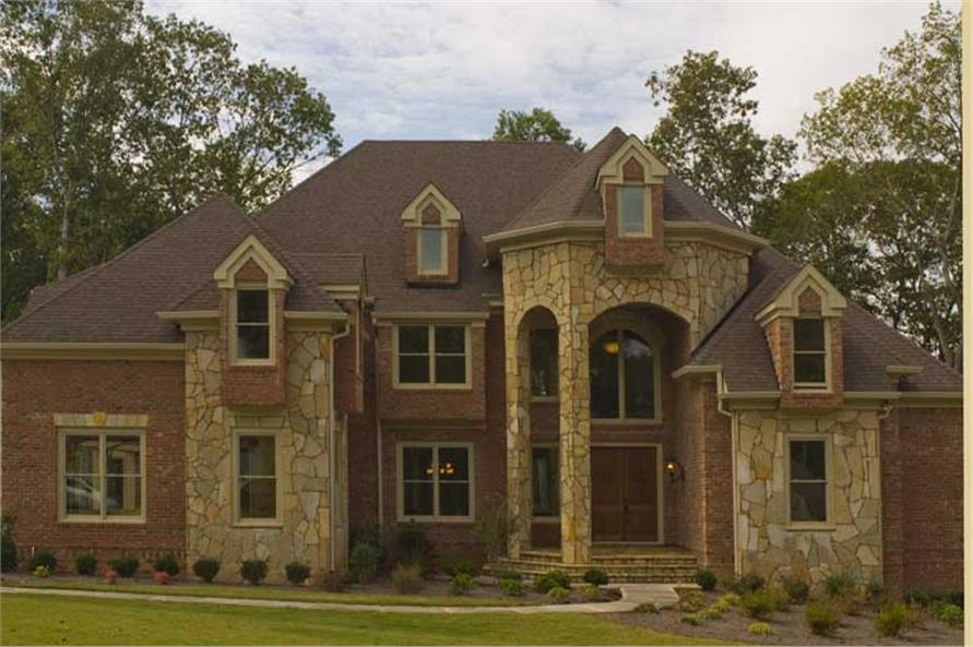 Home Exterior Photograph of this 4-Bedroom,4041 Sq Ft Plan -4041