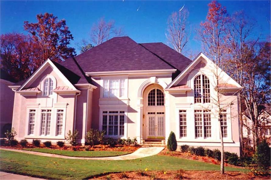 4-Bedroom, 3542 Sq Ft French Home Plan - 106-1168 - Main Exterior