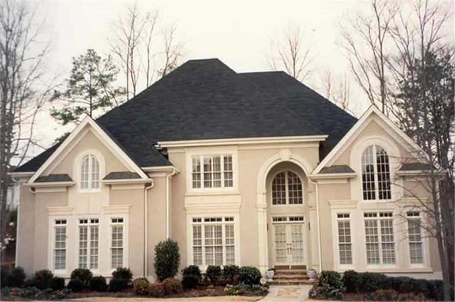 EXTERIOR PHOTO of this 4-Bedroom,3542 Sq Ft Plan -3542