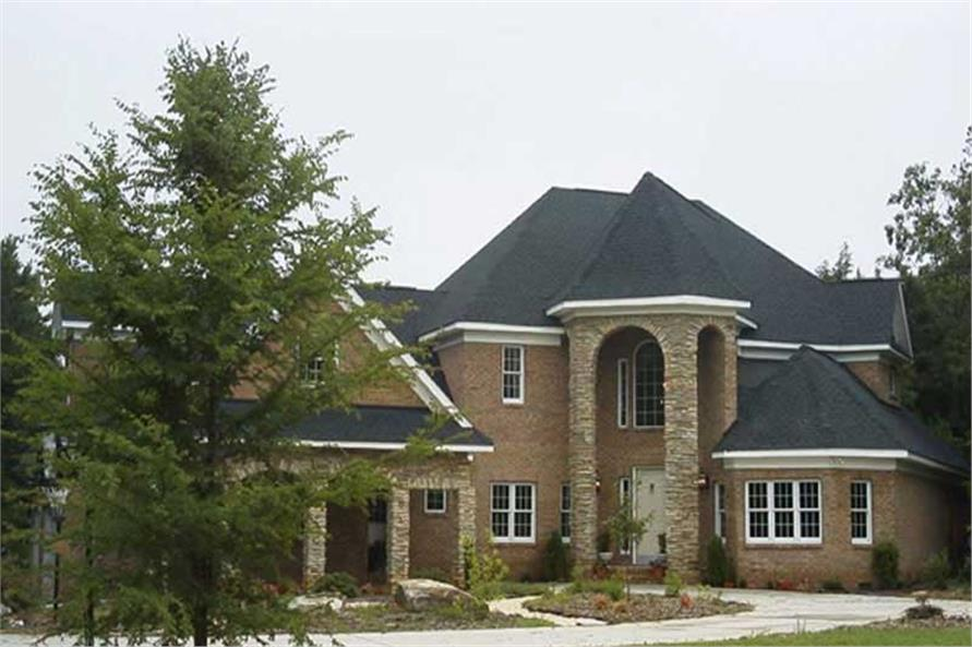 Home Exterior Photograph of this 4-Bedroom,3912 Sq Ft Plan -106-1169