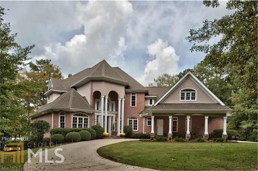 Home Exterior Photograph of this 4-Bedroom,3912 Sq Ft Plan -3912