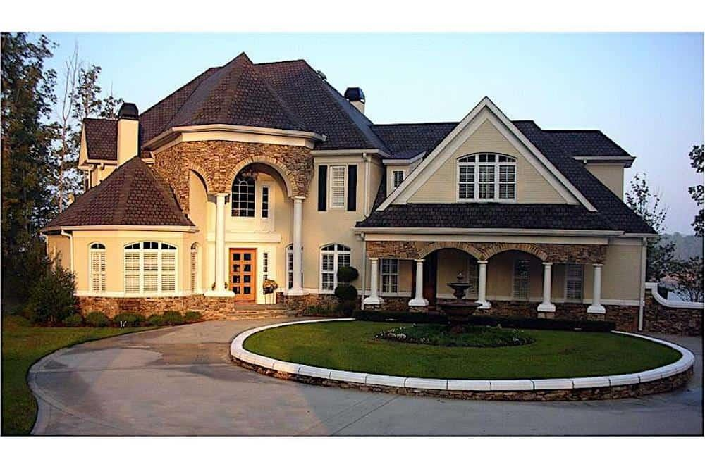 Country style home (ThePlanCollection: Plan #106-1169)