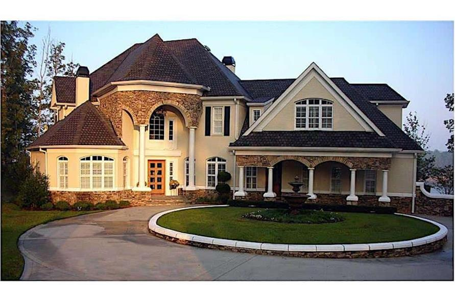 4-Bedroom, 3912 Sq Ft Country Home - Plan #106-1169 - Main Exterior