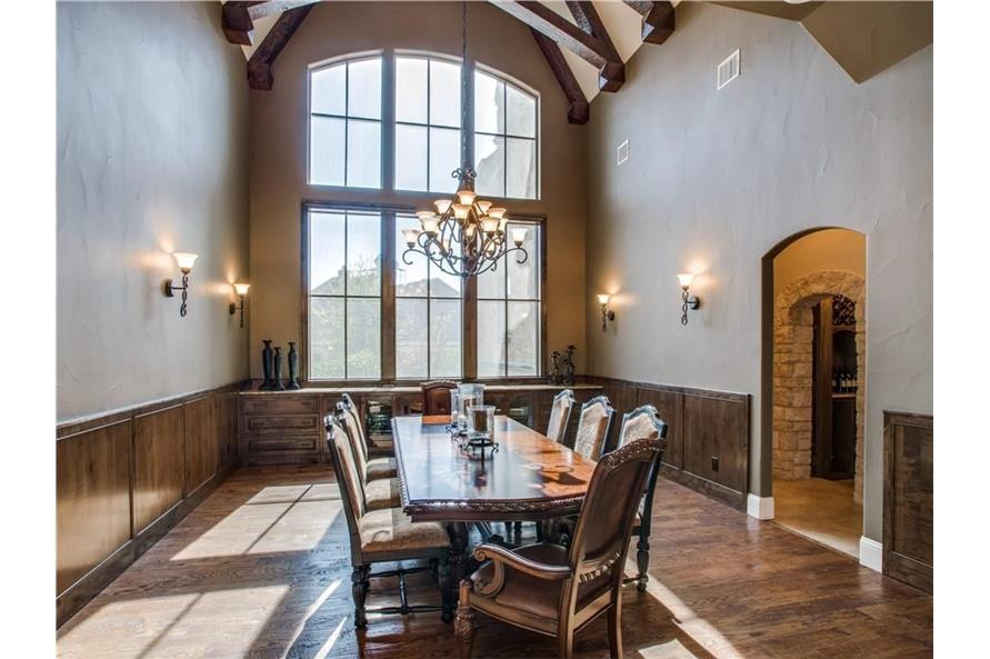 Dining Room of this 6-Bedroom,7236 Sq Ft Plan -7236