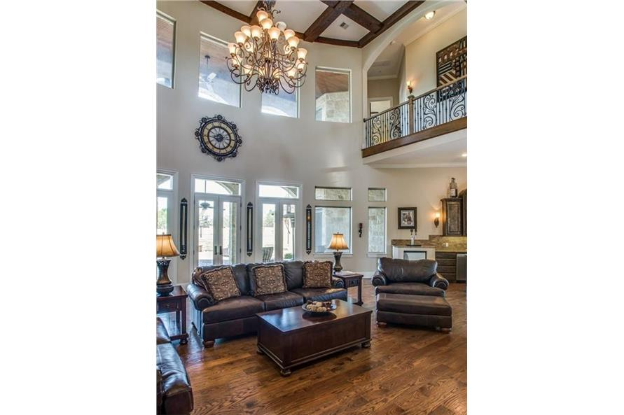 Great Room of this 6-Bedroom,7236 Sq Ft Plan -7236