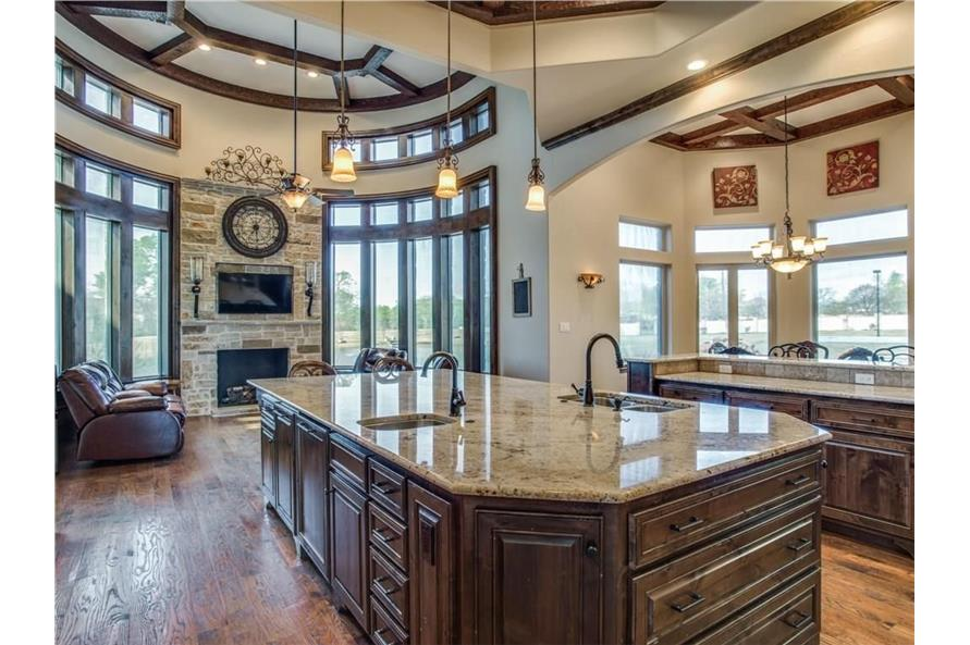 Kitchen of this 6-Bedroom,7236 Sq Ft Plan -7236