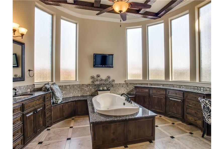 Master Bathroom of this 6-Bedroom,7236 Sq Ft Plan -7236