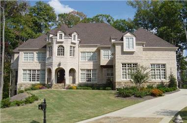 5-Bedroom, 3698 Sq Ft Luxury Home Plan - 106-1173 - Main Exterior