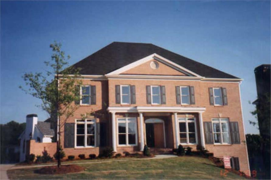 Home Exterior Photograph of this 5-Bedroom,3073 Sq Ft Plan -106-1176