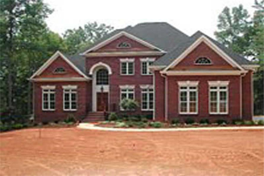 Home Exterior Photograph of this 4-Bedroom,3143 Sq Ft Plan -106-1177