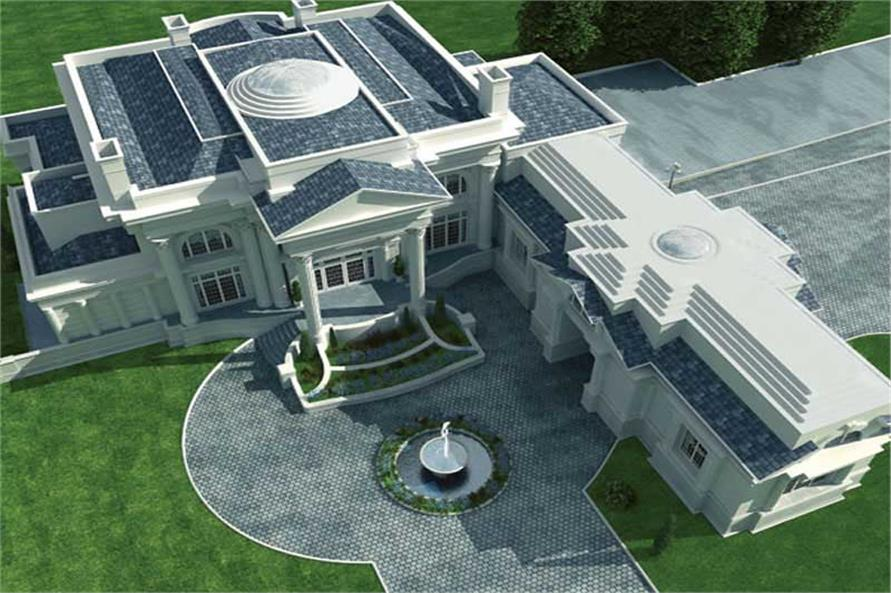 TOP VIEW OF BREAKERS HOME PLAN
