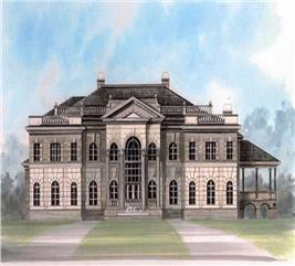 House Plan #106-1180