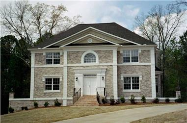 4-Bedroom, 2663 Sq Ft Colonial Home - Plan #106-1183 - Main Exterior
