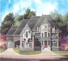 House Plan #106-1184