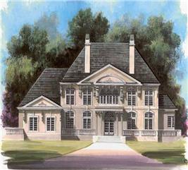 House Plan #106-1185
