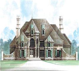House Plan #106-1186