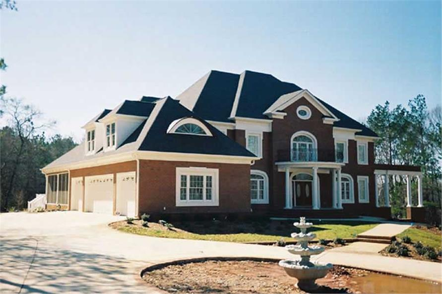 FRONT ELEVATION of this 5-Bedroom,5083 Sq Ft Plan -5083