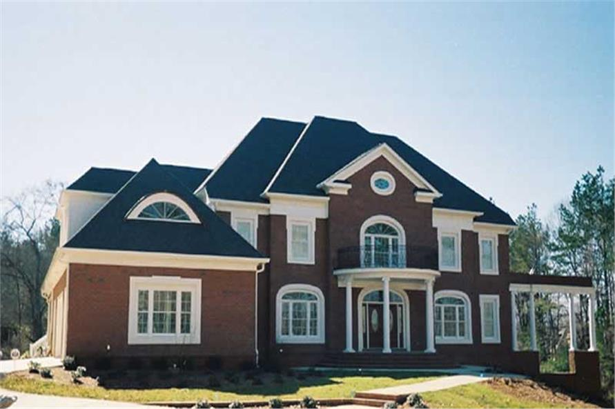 EXTERIOR PHOTO of this 5-Bedroom,5083 Sq Ft Plan -5083
