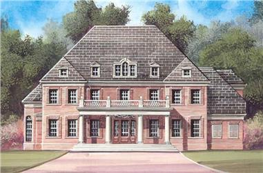Main image for house plan # 14310