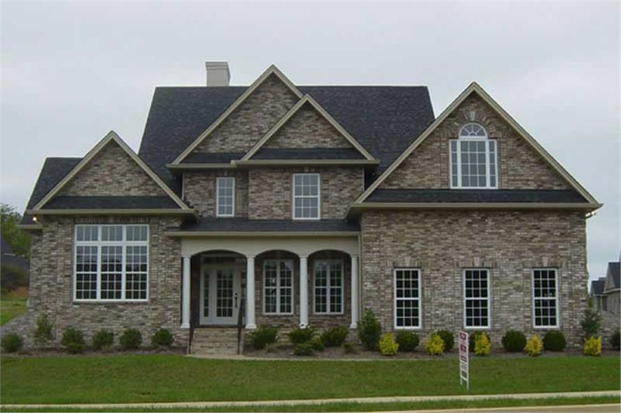 Home Exterior Photograph of this 4-Bedroom,2773 Sq Ft Plan -106-1193