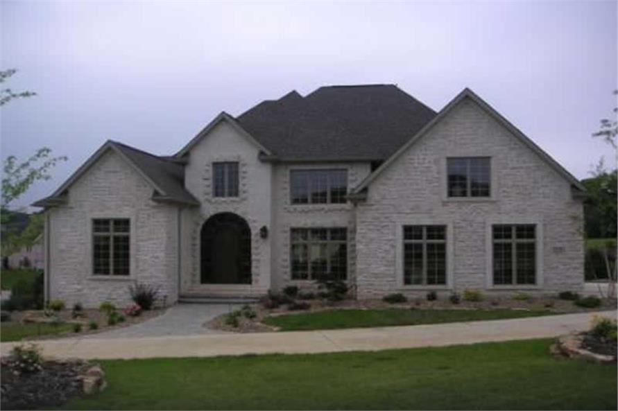 Home Exterior Photograph of this 4-Bedroom,3065 Sq Ft Plan -106-1194