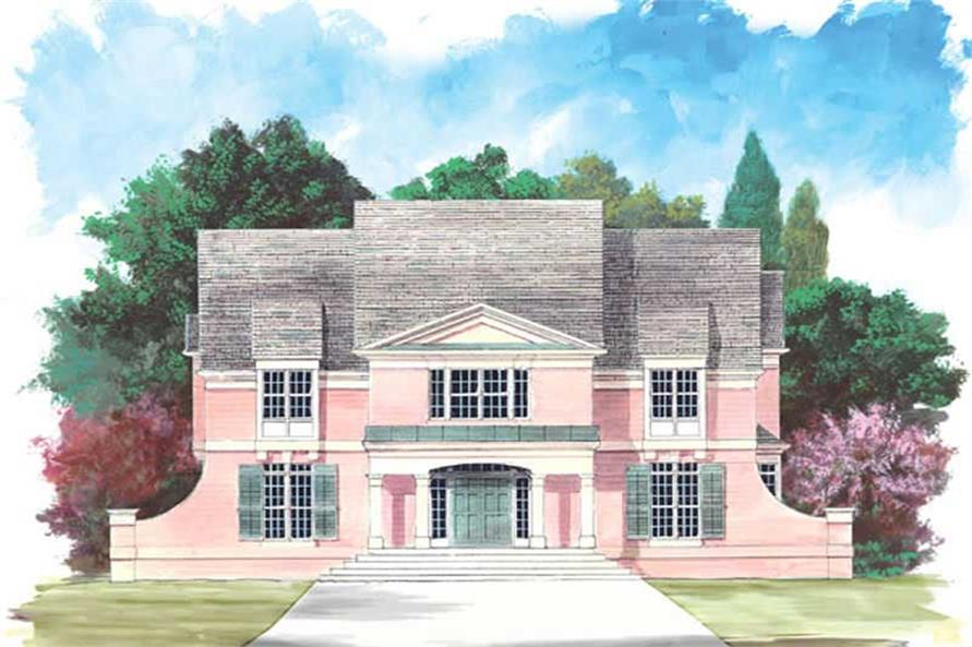 Main image for house plan # 15880
