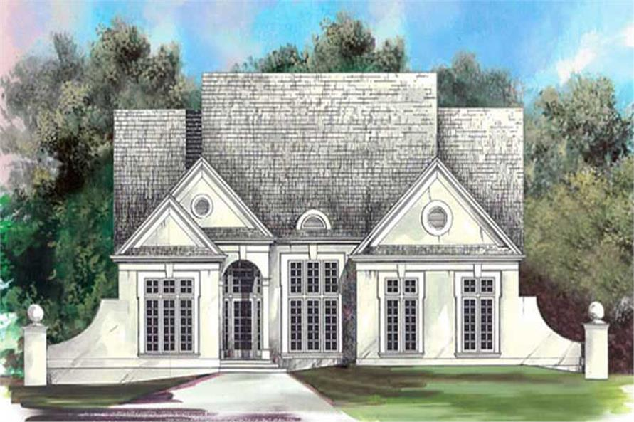 Main image for house plan # 15845