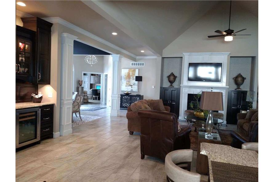 Great Room of this 3-Bedroom,2385 Sq Ft Plan -2385