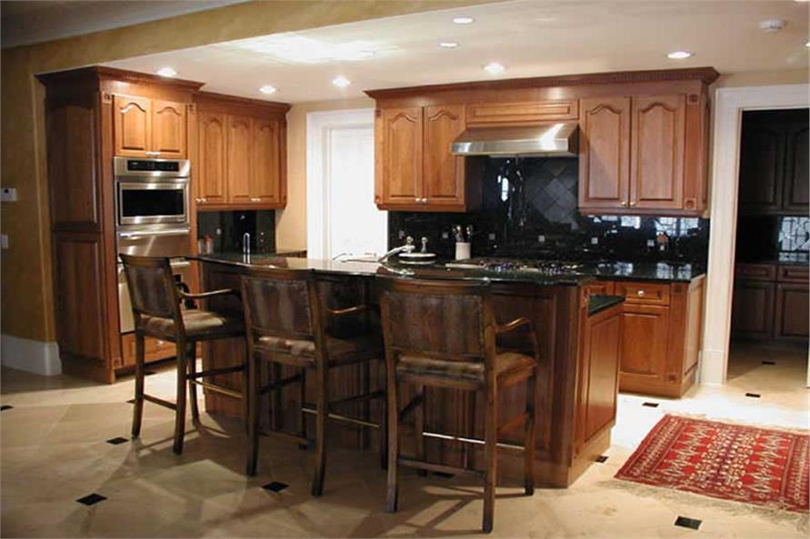 Kitchen of this 6-Bedroom,8210 Sq Ft Plan -8210