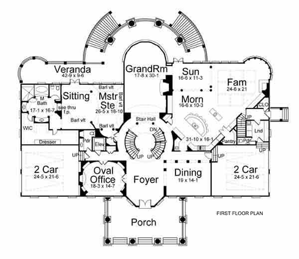 Sus_1_600 House Plans With Master Bedrooms On First And Second Floors on
