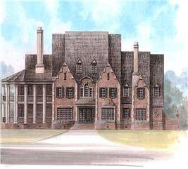 House Plan #106-1216